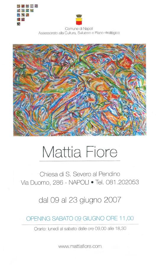 Poster Mostra NapoliPendino