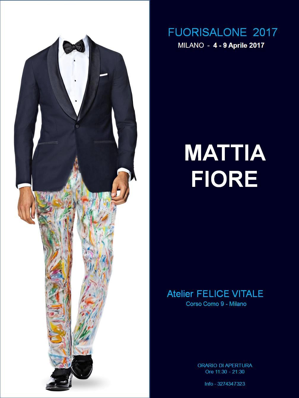 Poster Mattia Fiore - FuoriSalone 2017B