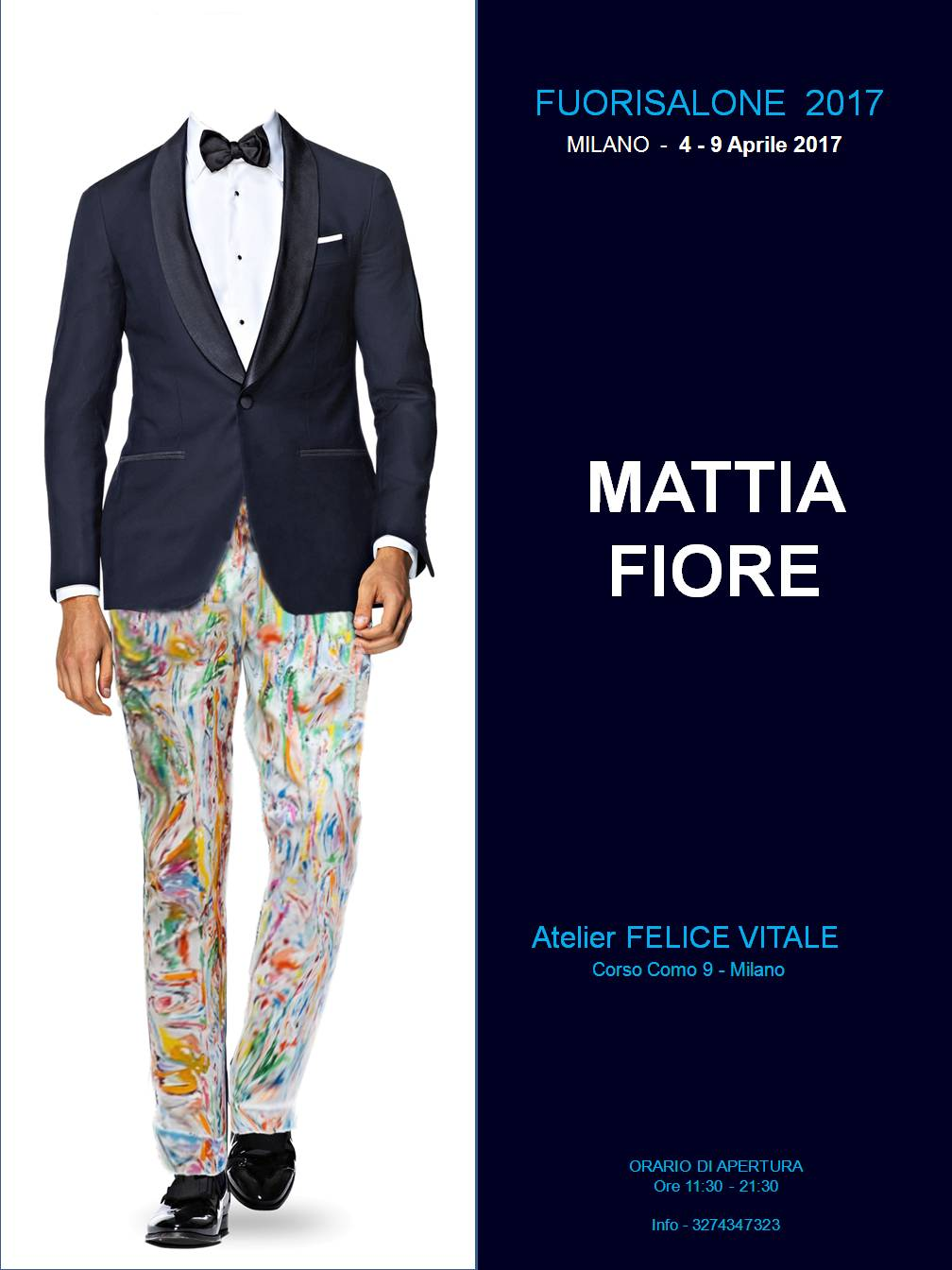 Poster Mattia Fiore - FuoriSalone 2017a