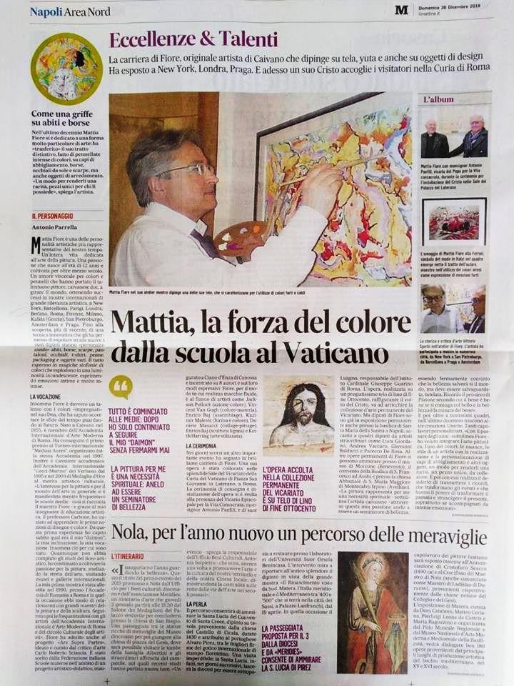MattiaFiore - Eccellenze e Talenti -ILMATTINO
