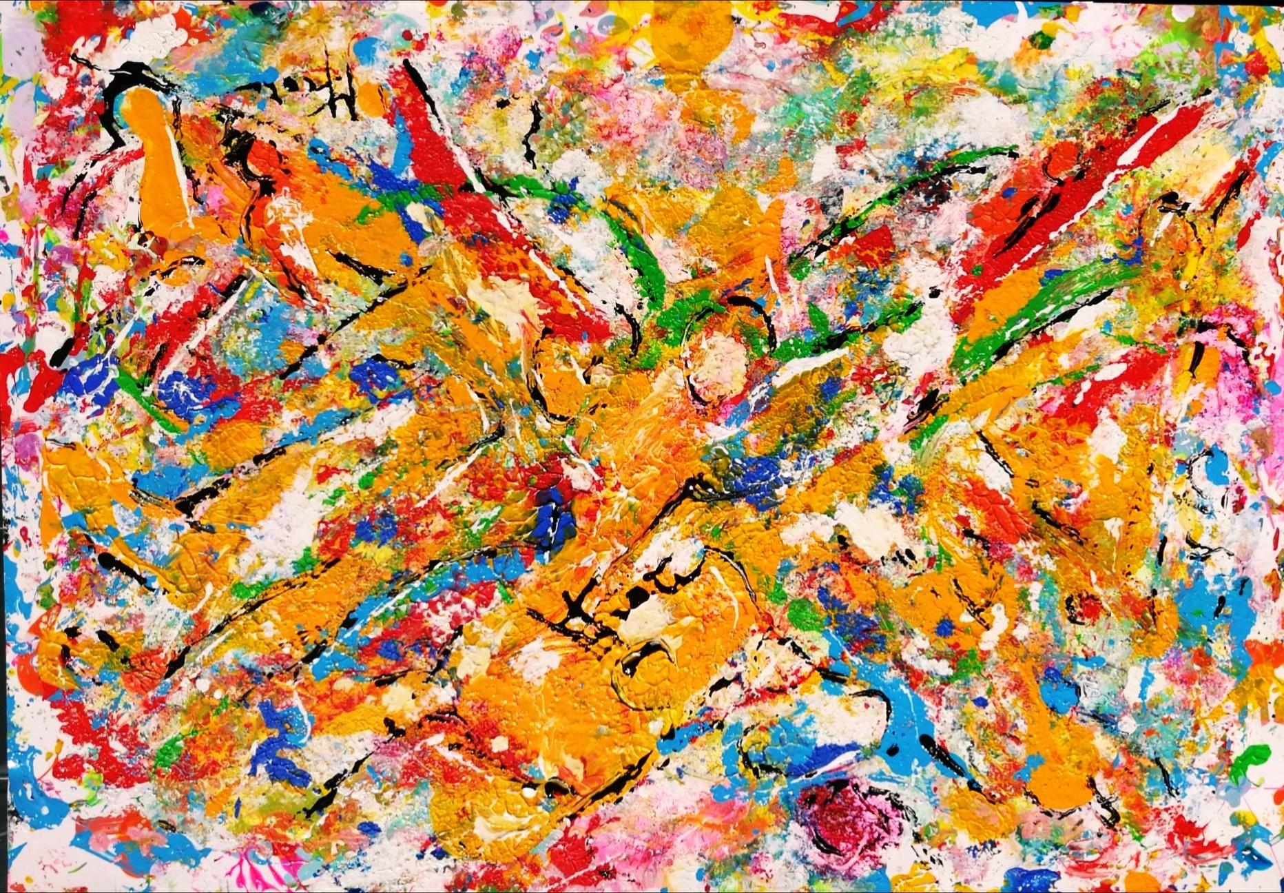 Mattia Fiore - 002-2018-–-Tecnica-mista-su-cartoncino-35-50-cm