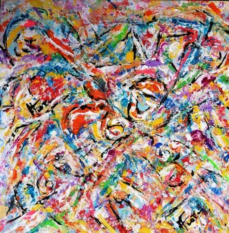 Mattia Fiore -  016-2018-–-Tecnica-mista-su-cartoncino-43-43-cm