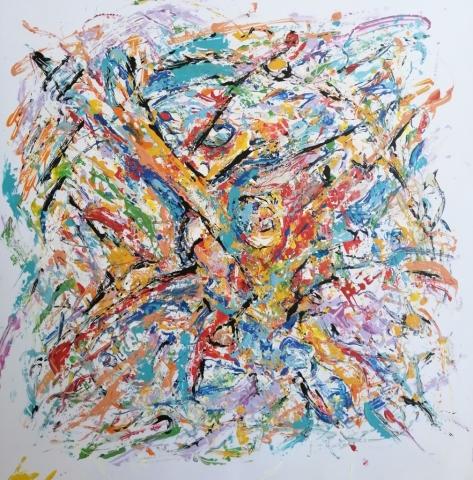 Mattia Fiore - 023 -2018-–-Tecnica-mista-su-cartoncino-48-48-cm