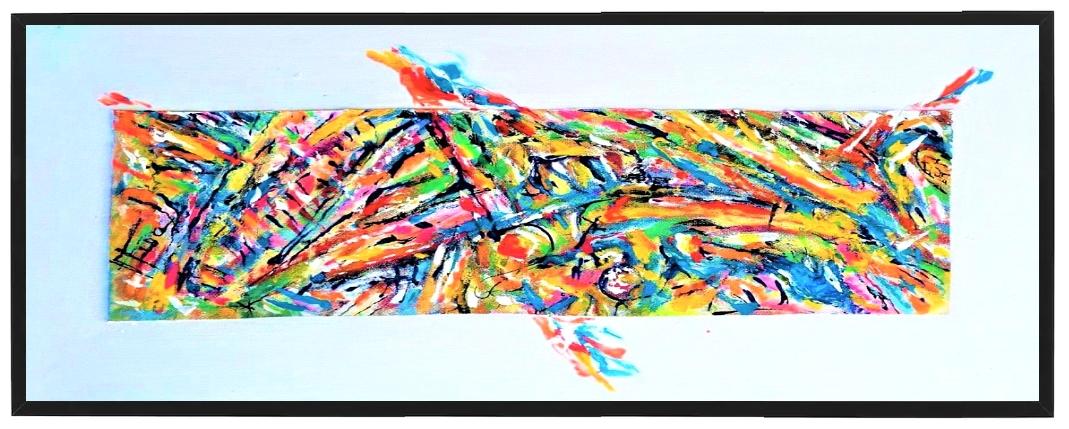 Opera di Mattia Fiore donata al Museo di Teora